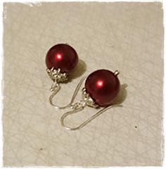 Beautiful x-mas earrings