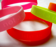 Rubber bracelet 5-pack