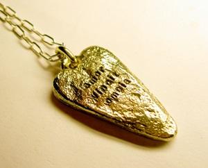 Coolt halsband Guldhjärta