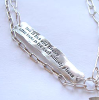 Quote jewellery with fireweed