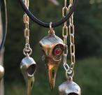 Coolt korphuvud i brons
