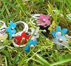 Tripple flowers ring