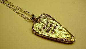 Cool necklace Goldenheart